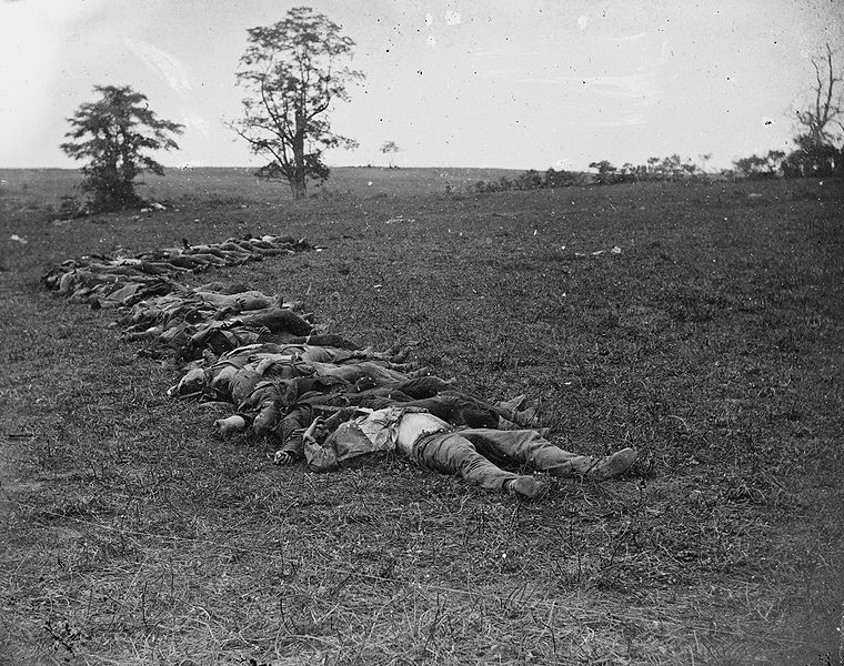 760px-Confederate_dead_gathered_for_burial_at_Antietam