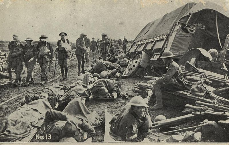 800px-After_the_battle_on_the_Menin_Road,_France,_1917