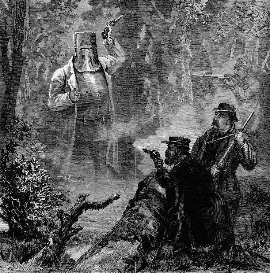 A_strange_apparition_Ned_Kelly's_last_stand
