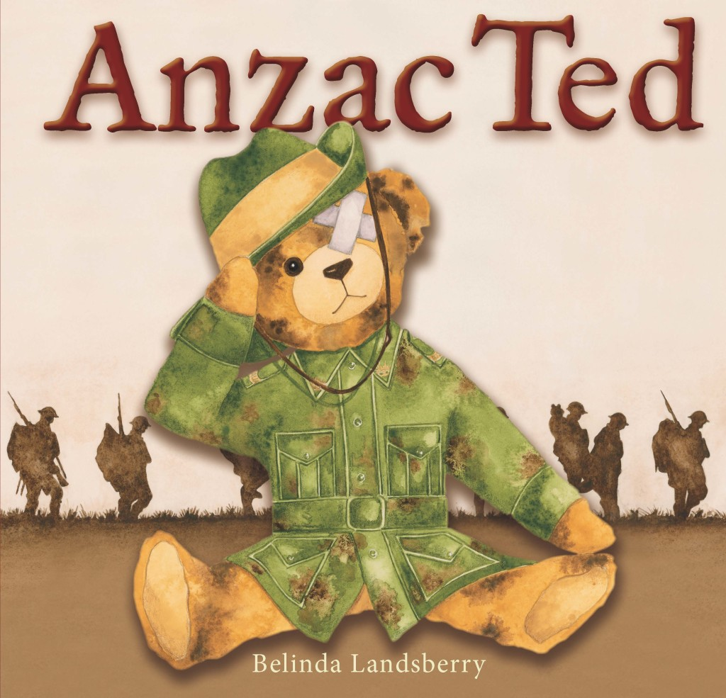 Anzac Ted Front Cover High Res