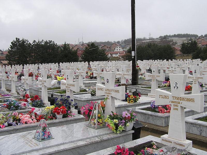 Bratunac-Serbian-Cemetery-Bosnia-War