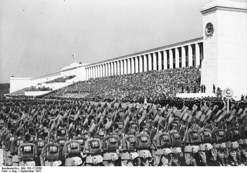 Nünrberg, Reichsparteitag, RAD-Parade