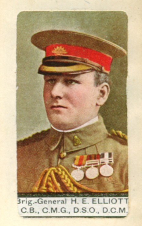 Cigarette card album2 Elliott