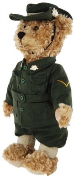 First world war digger bear WW1DIGGERBEAR