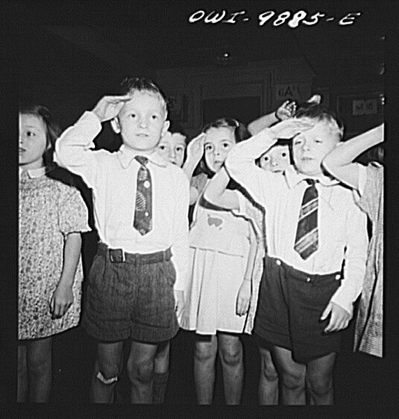 First_graders_in_public_school_saluting_the_flag.8d23028v