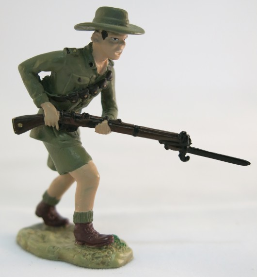 Little Digger Collectables Australian Lighthorse The Nek Gallipoli 1915 front