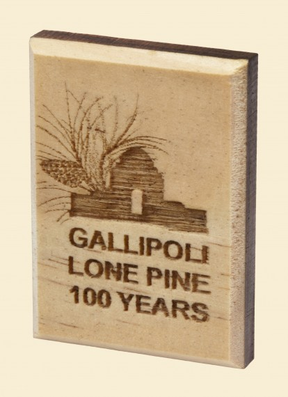 Lone Pine 100 years Lapel pin Lone Pine logo coloured 101012619
