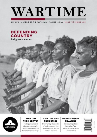 Wartime Spring 2016 cover