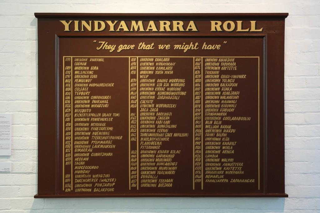 Yindyamarra Roll 7