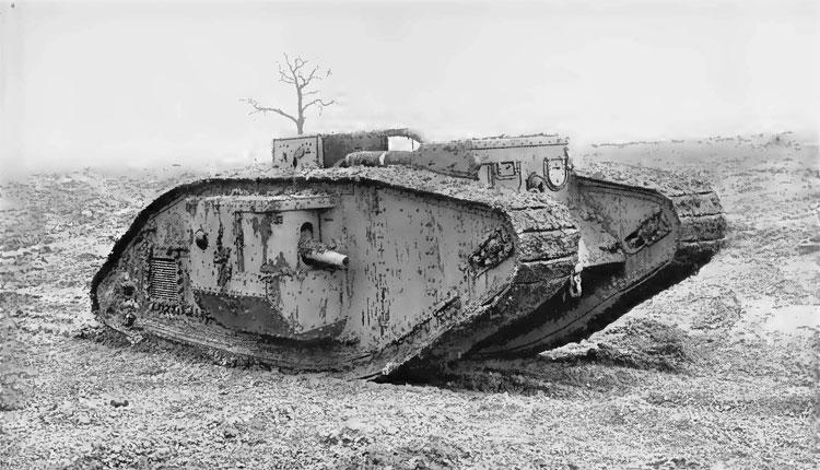mark-v-tank