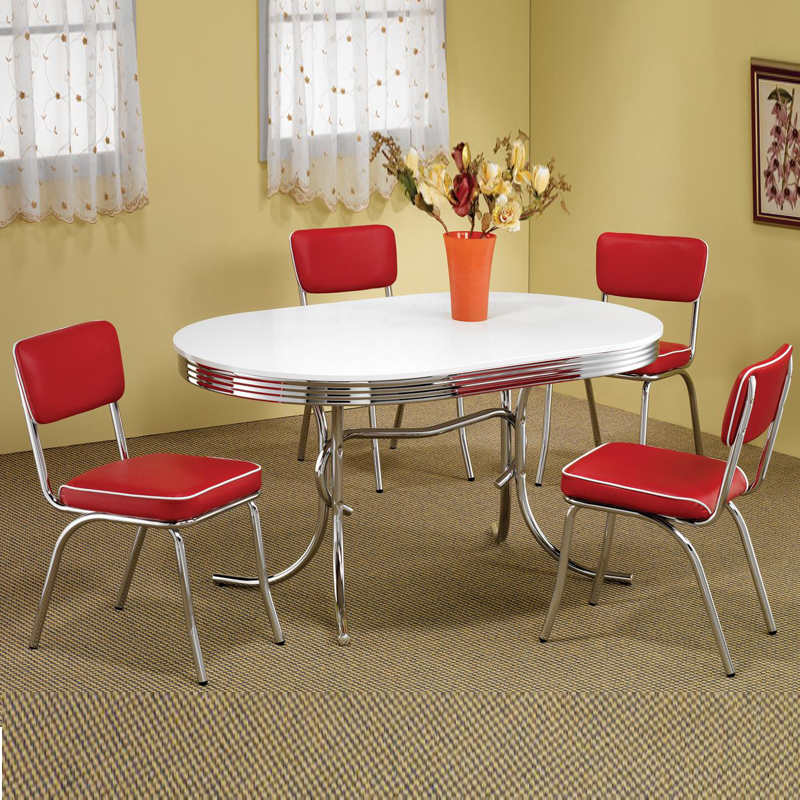 retro-dining-set-ebay-regarding-contemporary-household-retro-kitchen-tables-and-chairs-ideas